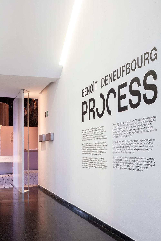 Exposition Process - Benoit Deneufbourg design studio