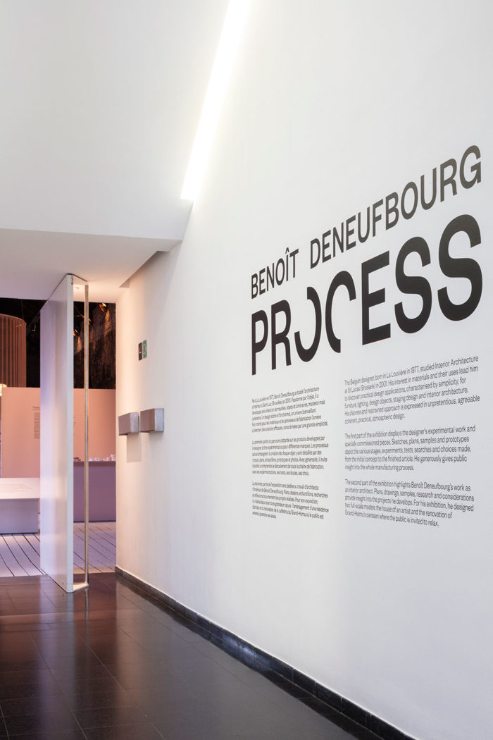 Exposition Process - Benoit Deneufbourg design studio
