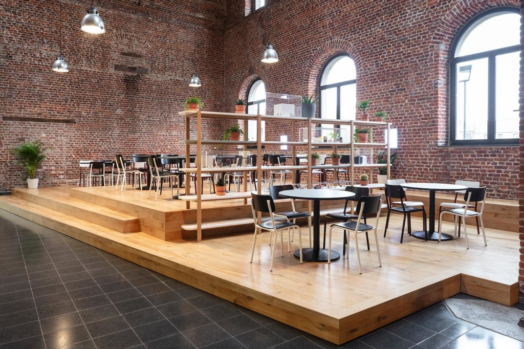 Cafeteria from the Grand-Hornu museum