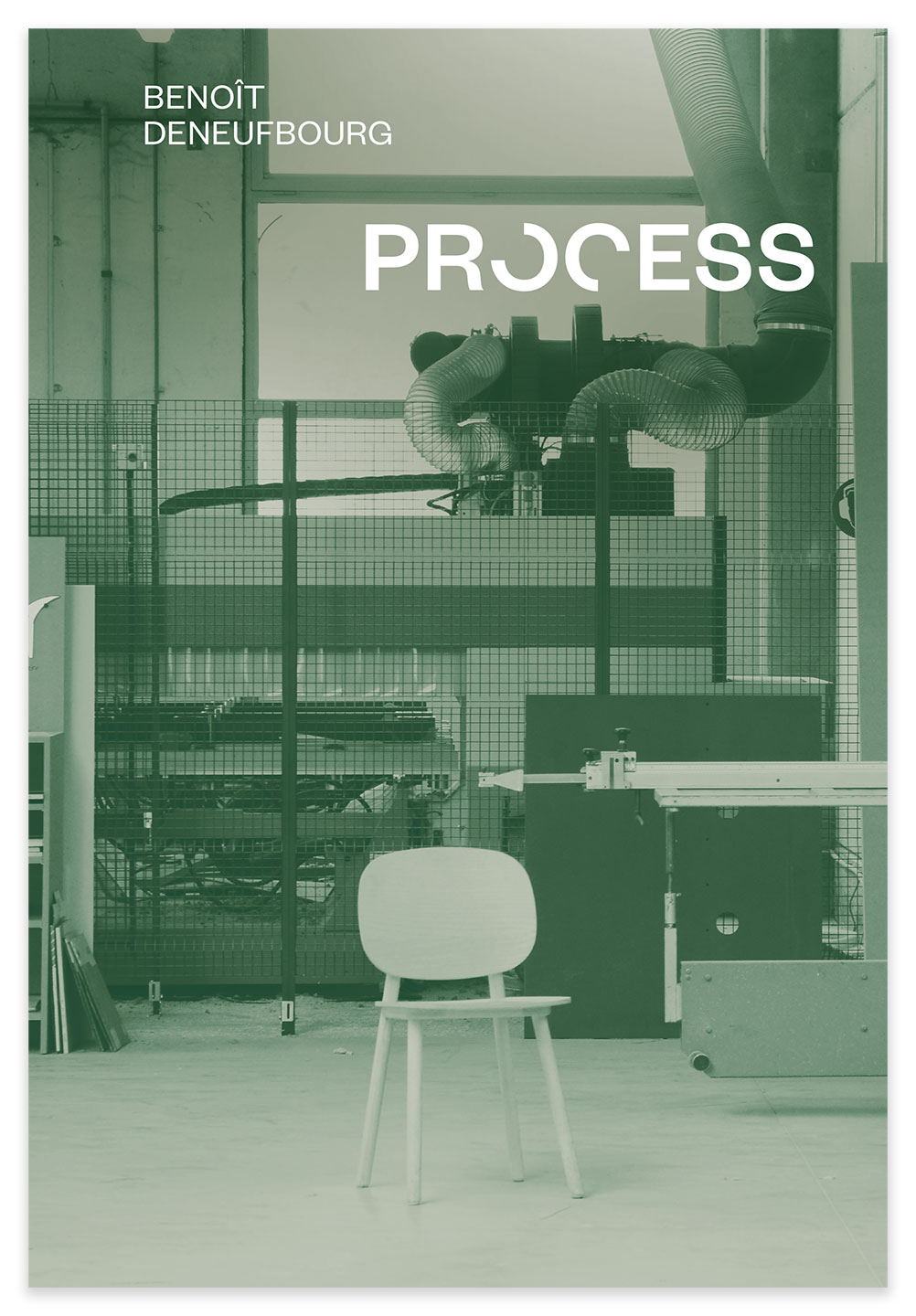 Cover of the book about the creative process of Benoit Deneufbourg